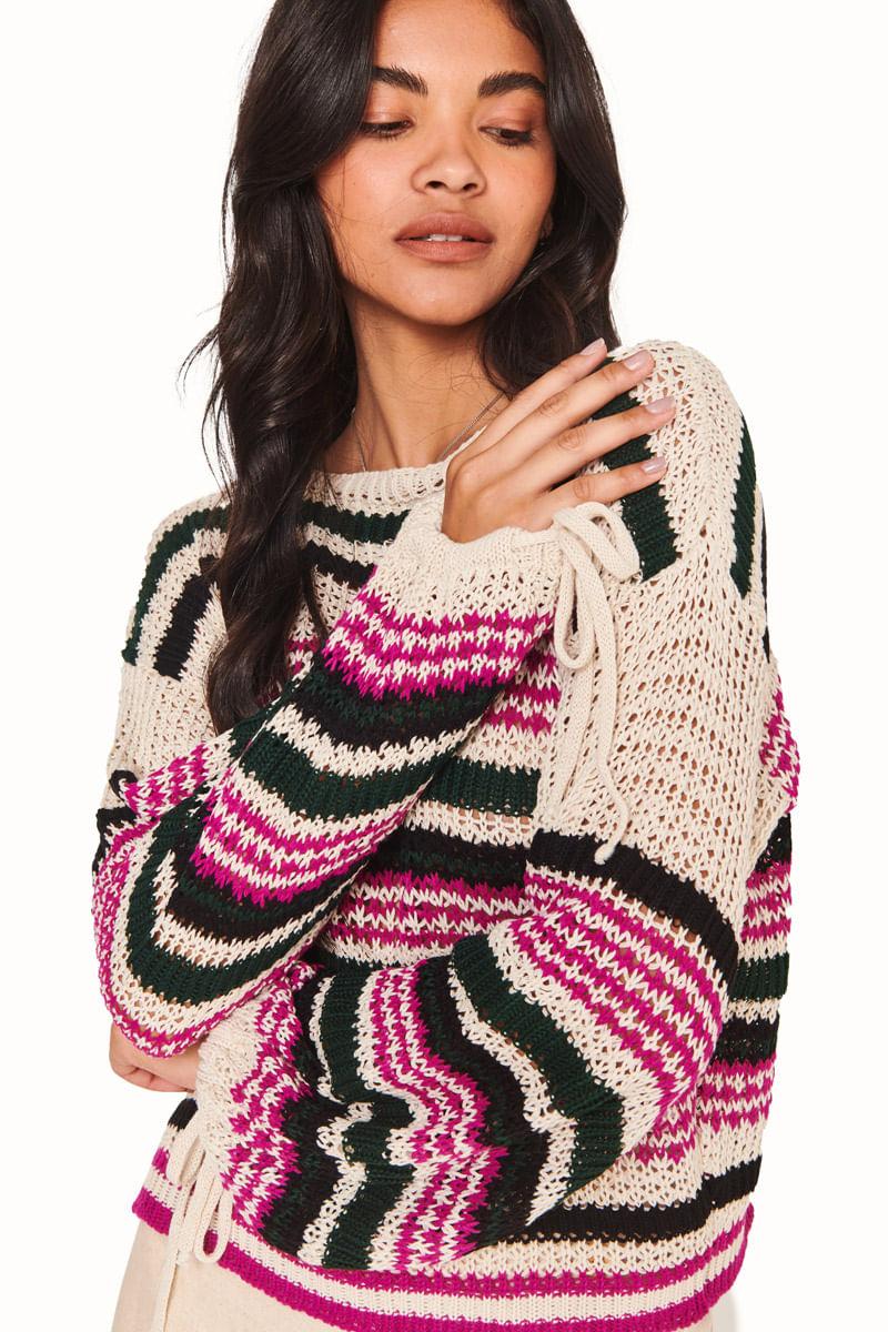 blusa tricot paraiso